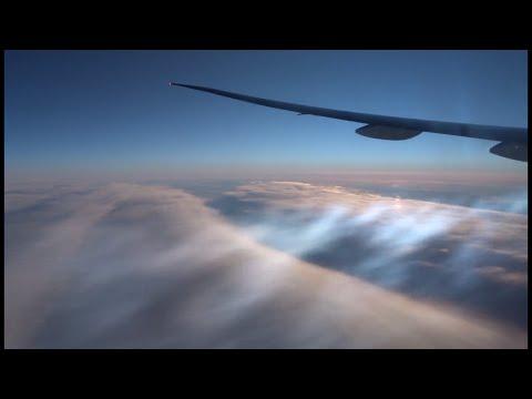 Dallas-Hong Kong flight 達拉斯直航香港: NWT Canada, Chukchi Sea Чукотское море, Siberia Сибирь 2016-01-20