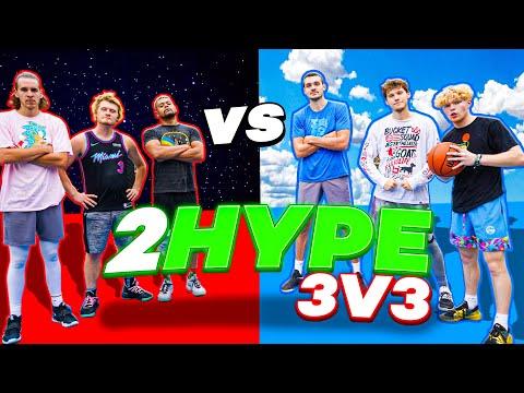 INSANE 2HYPE 3v3 Basketball Feat. AJ Lapray!