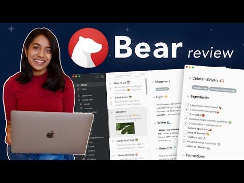 Bear App: The Minimal, Secure Evernote Alternative (not sponsored)