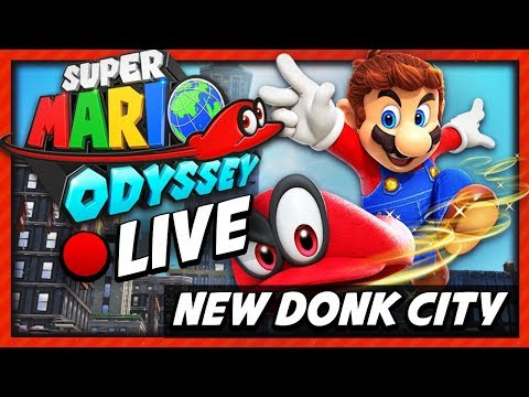 """[🔴LIVE] """"NEW DONK CITY FUNK"""" - Super Mario Odyssey: Metro Kingdom Gameplay! (Let's chill and chat!)"""