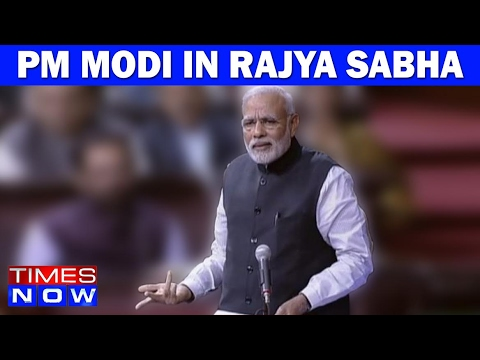 PM Modi Attacks Manmohan Singh In Rajya Sabha