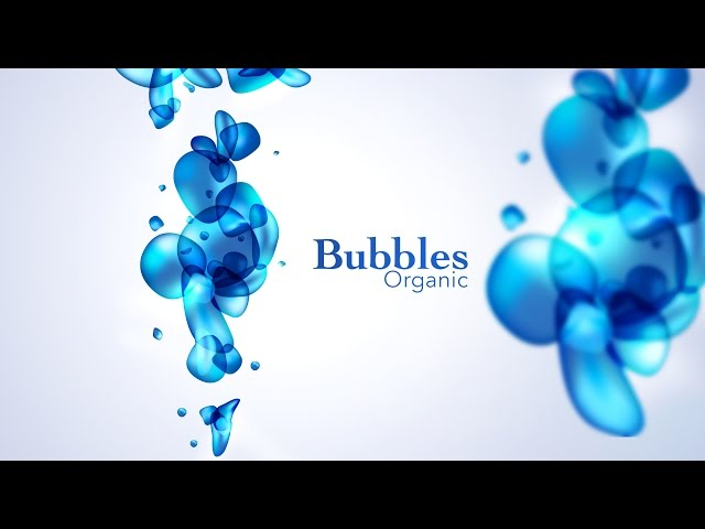 Organic Bubbles - Adobe Illustrator/Photoshop - Graphic Design