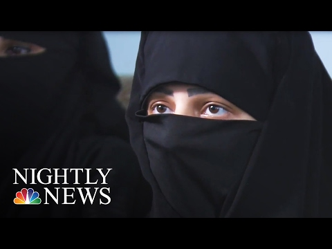 Into the Secret World of ISIS' Female Enforcers | NBC Nightly News
