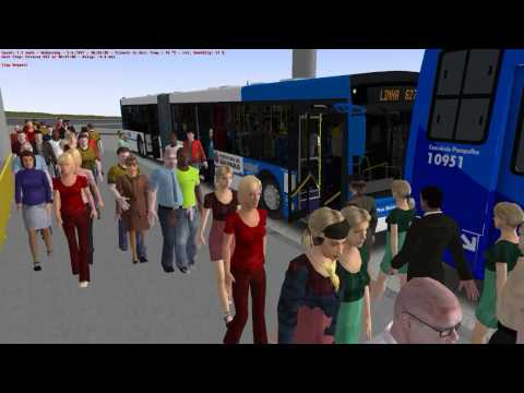[OMSI 2] 627 BH Norte W.I.P By Beans Games - Mondego By MEP