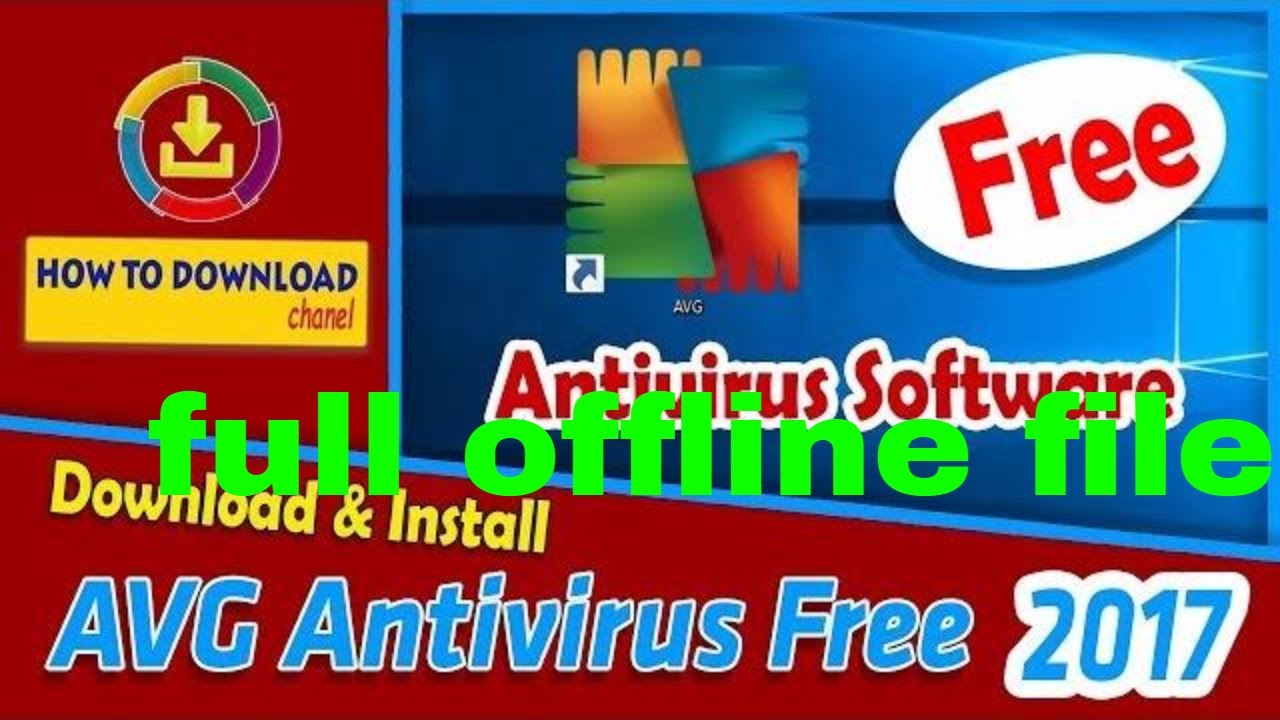 avg antivirus free download offline installer 2019