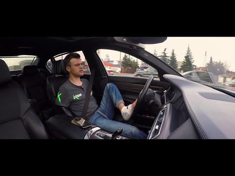 BMW 750 Li 407KM, Bartek, zapinanie pasów, bilecik i prezentacja :)