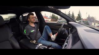 BMW 750 Li 407KM, Bartek, zapinanie pasów, bilecik i prezentacja :)  Pasja na Krawędzi