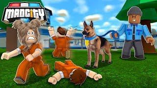 ROBLOX MAD CITY POLICE DOGS!!