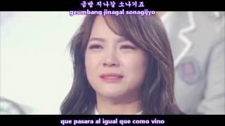 I.O.I - DOWNPOUR (소나기) MV [Sub Español + Hangul + Rom] HD