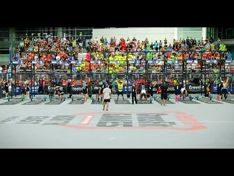CrossFit - The North East Men Take on Event 6