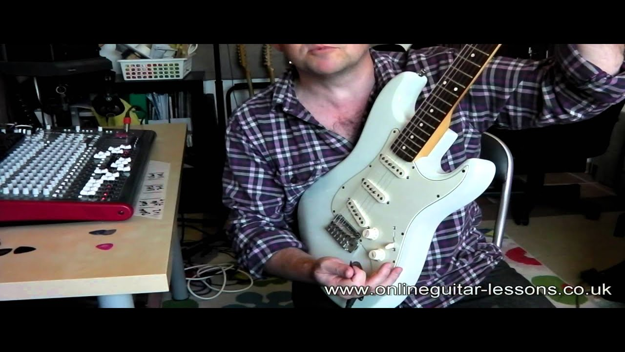 Strat Wiring Diagram Sss 2006 Jeep Commander Parts Fender Stratocaster Using The Selector Switch Quick Demo Youtube