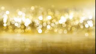 خلفية متحركة للمونتاج ضوئية ذهبية جودة عالية HD
