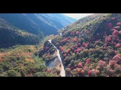 Bountiful Peak via Farmington Canyon drone by Justin McFarland