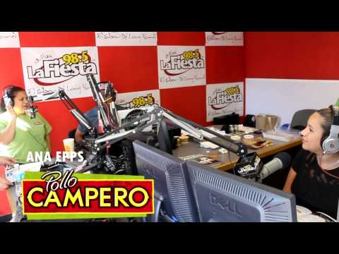 Pollo Campero en Radio La Fiesta 98.5FM de Long Island, New York