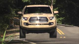 MotorWeek | Road Test: 2016 Toyota Tacoma