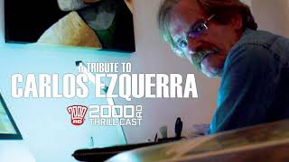 The 2000 AD Thrill-Cast: A Tribute to Carlos Ezquerra