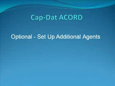 Get Started with Cap Dat ACORD Forms   YouTube Get Started with Cap Dat ACORD Forms