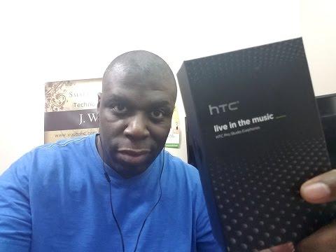 HTC Pro Studio Earphones Review!