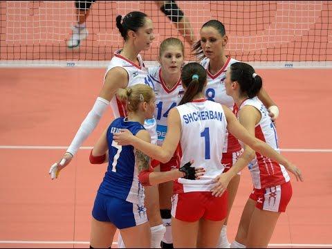Чемпионат Европы-2015 по волейболу среди женщин. Лучшие моменты