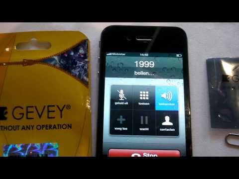 Gevey Supreme Pro Plus Sim Card Unlocked Apple IPhone 4 (France) BB 04.10.01