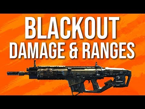 Black Ops 4 In Depth: Blackout Weapon Stats (Damage & Ranges)