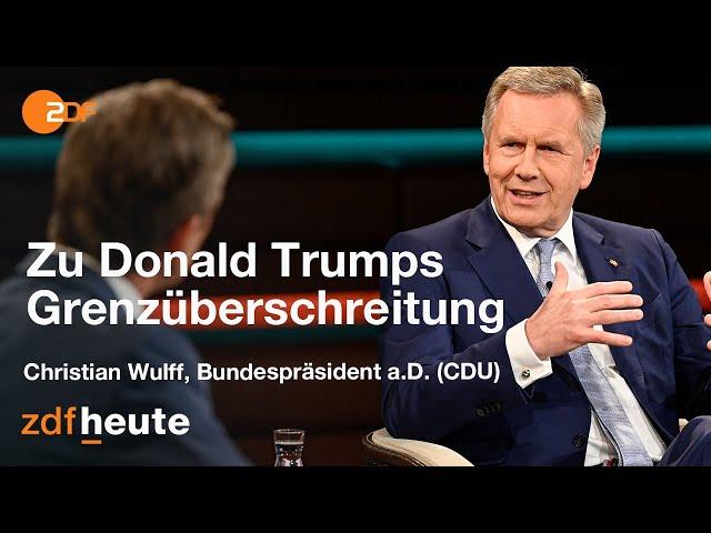 """Entsetzen über Trumps """"Angriff"""" auf die Demokratie   Markus Lanz vom 04. November 2020"""