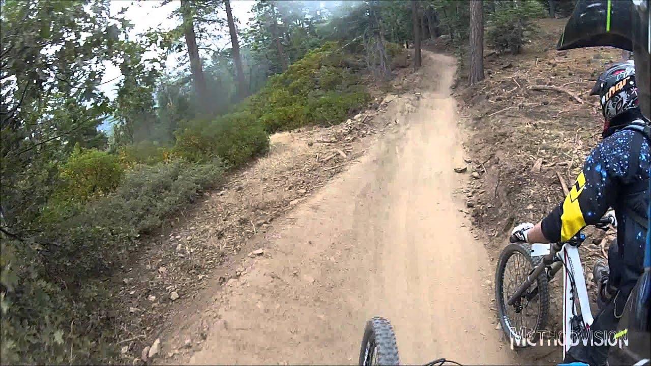 Downhill Mountain Biking At Snow Summit Big Bear Cruiser To