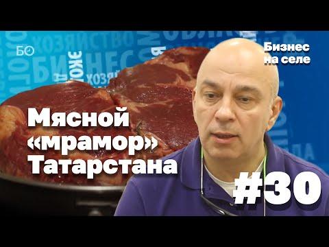 Бизнес на селе # 30. Мясной мрамор Татарстана: как в республике создают деликатес?