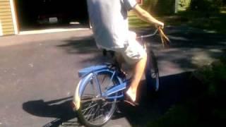 Vintage schwinn bike ride