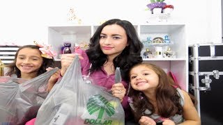 Dollar Tree Haul Nov 2017 con Mia, Joy & Zoe
