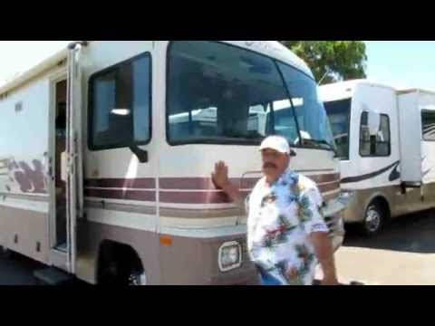 1996 fleetwood storm 25 u0026 39  class a motorhome youtube