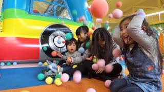 福岡のだざいふゆうえんちに遊びに行ってきました。ここは小さい子向け...