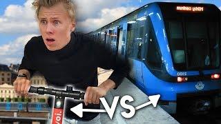 Elsparkcykel VS Tunnelbana