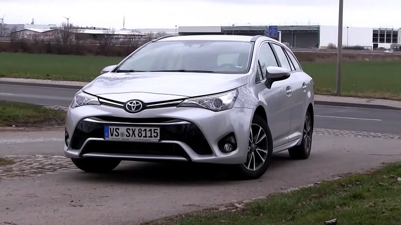 2016 toyota avensis 1 6 d 4d 112 hp test drive by test drive freak youtube. Black Bedroom Furniture Sets. Home Design Ideas