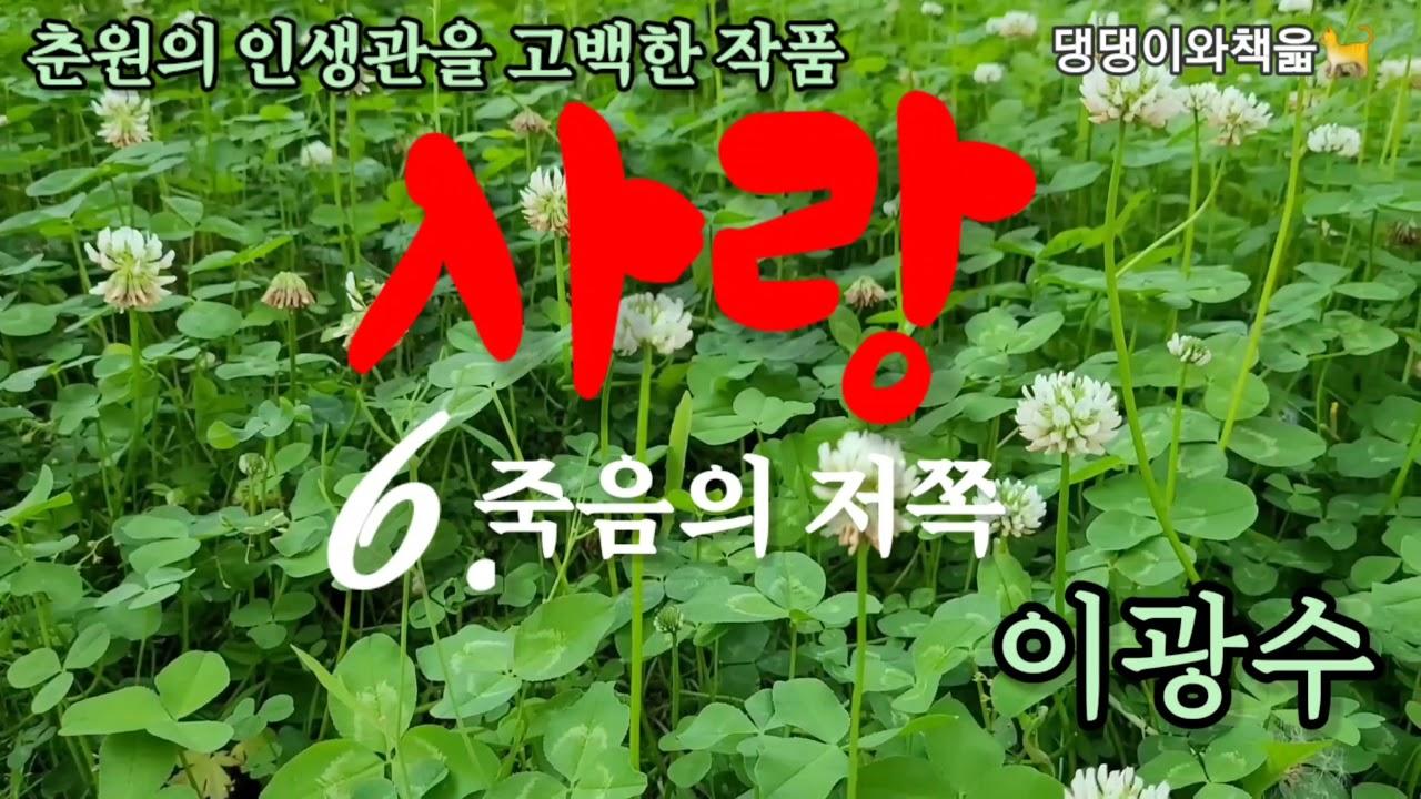 [오디오북]사랑(6)/춘원이광수 장편소설