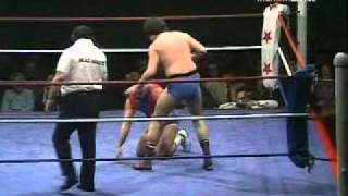 World Of Sport - Mark Rollerball Rocco vs Steve McHoy pt.2