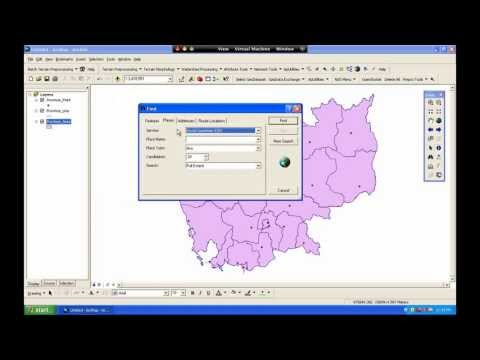 ជីអាយអេស (GIS in Khmer) Introduction to ArcMap 9.3