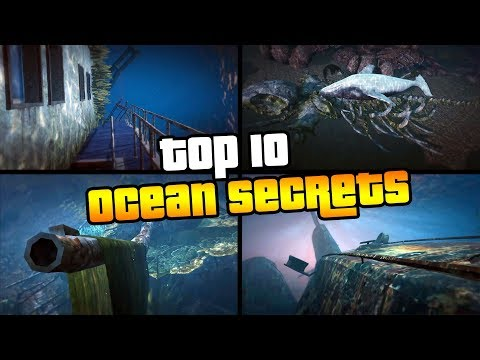 TOP 10 SECRETS IN THE OCEAN IN GTA 5 ONLINE (GTAV) | Sonny Evans