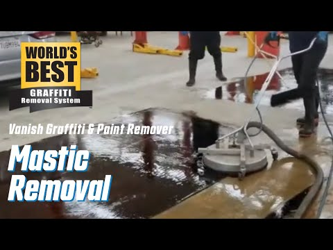 World's Best Mastic Removal