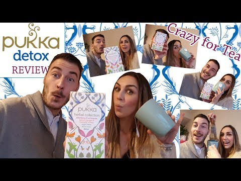 Detox Pukka Herbal Tea Collection Review - Immune Boost - Cleanse - Body Detoxification - Pukka Herb