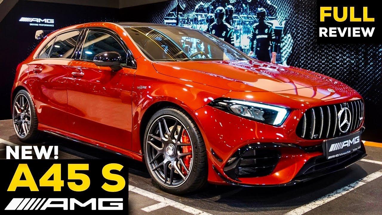 Download 2021 MERCEDES AMG A45 S NEW Full Review BRUTAL Hyper-Hatchback SOUND Exterior Interior 4MATIC+