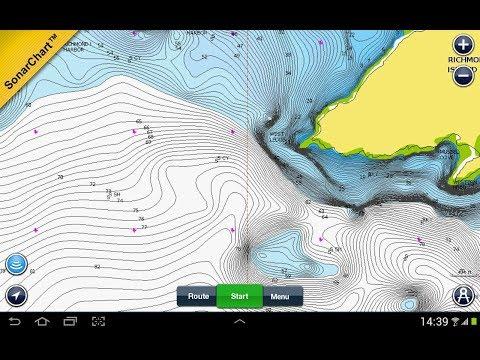 лучшая программа под андроид для рыбаков показывающая глубины водоёмов