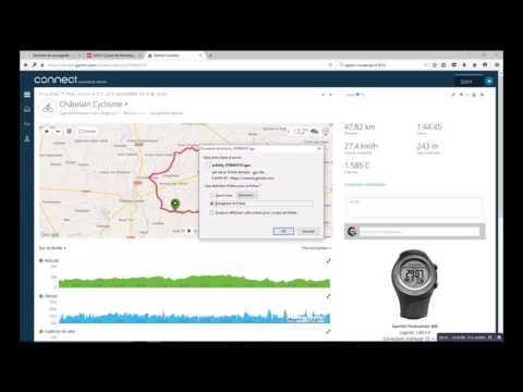 Epson Runsense SF-810, mon Running Coach, épisode 6, l'import des données