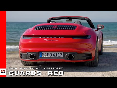 2020 Porsche 992 911 Carrera 4S Cabriolet - Guards Red