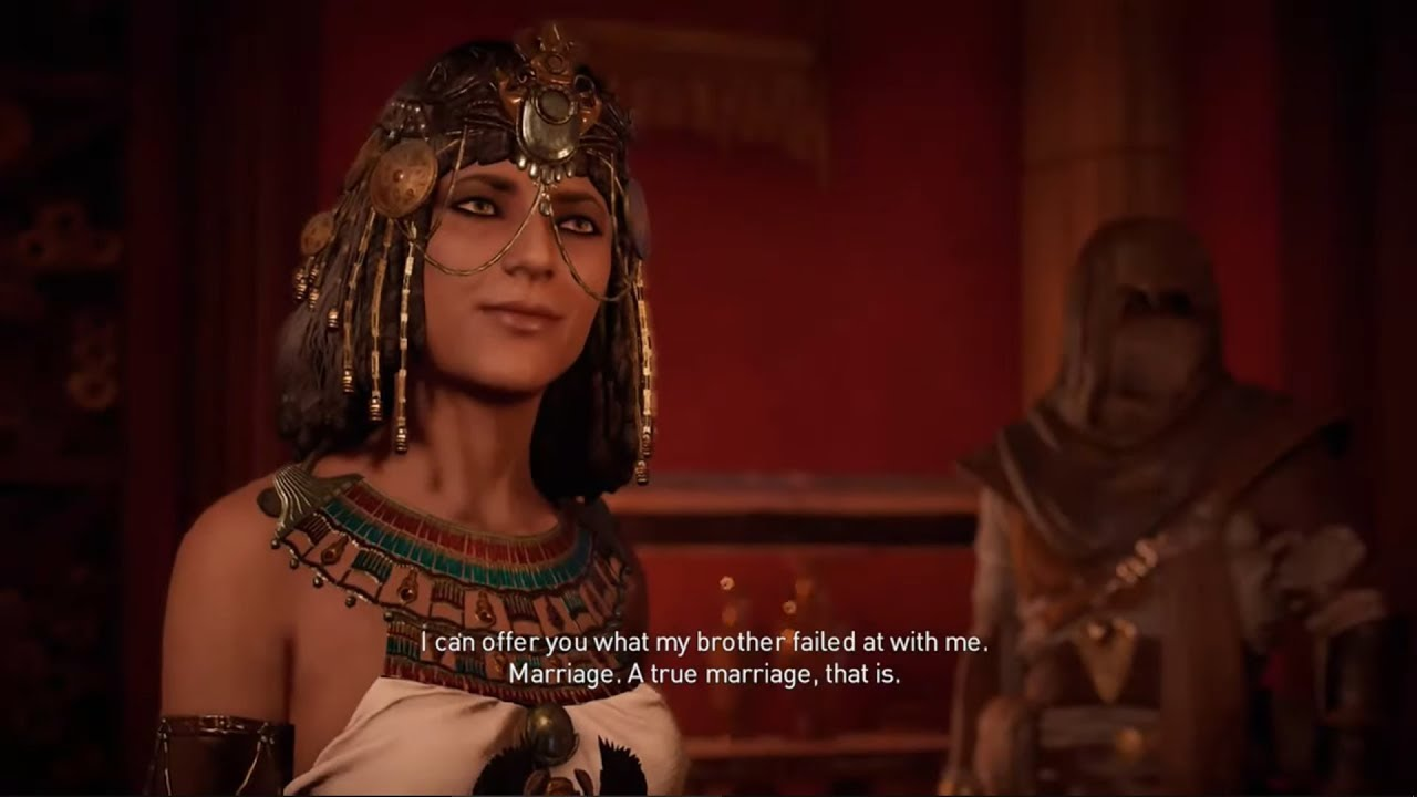 Cleopatra Had Herself Wred In A