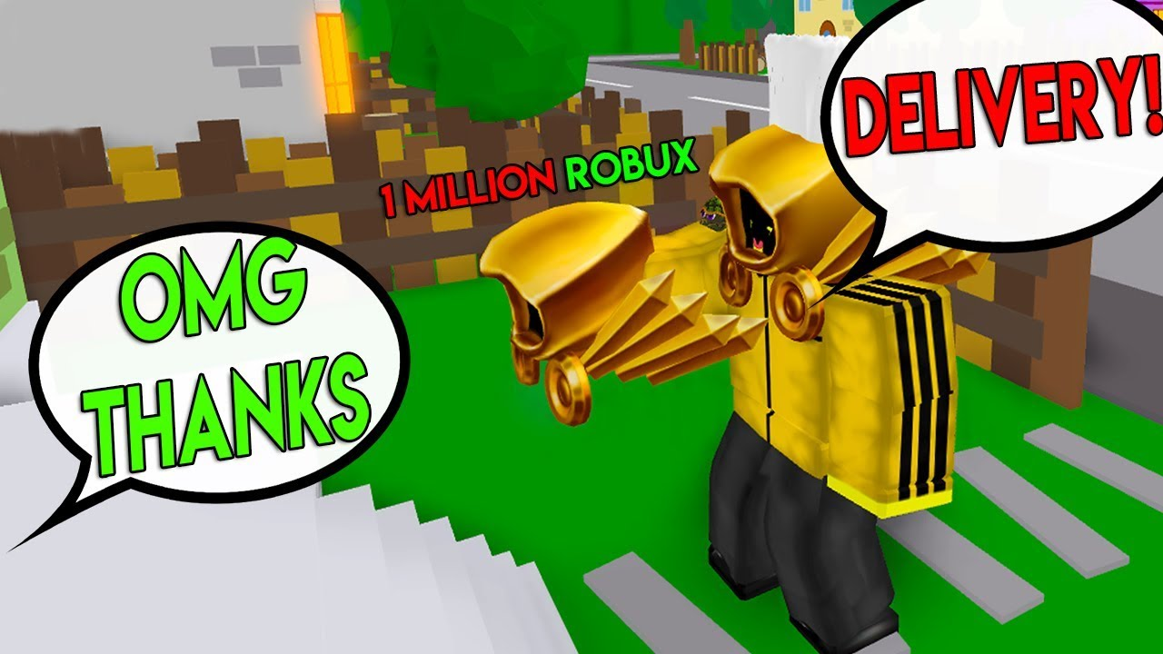 Roblox Delivery Simulator Dominus 1k Robux