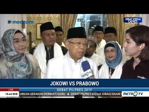 Ma'ruf Siap Berangkat, Yakin Jokowi Menguasai Tema Debat Kedua Mp3