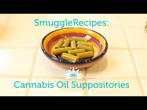 Make Your Own Cannabis Suppositories