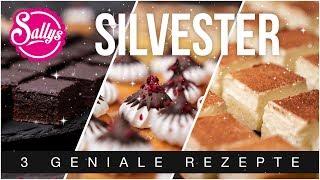 Dessert Teller für Silvester / Rahmkuchen, Mud Pie und Baiser Cupcake / Sallys Welt