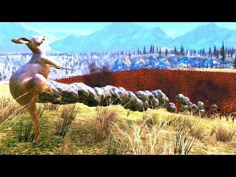 UEBS - Amazing Kangaroo Balls! - Ultimate Epic Battle Simulator Gameplay